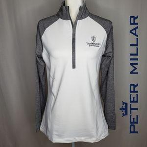 Peter Millar 1/4 Zip Performance Pullover Golf